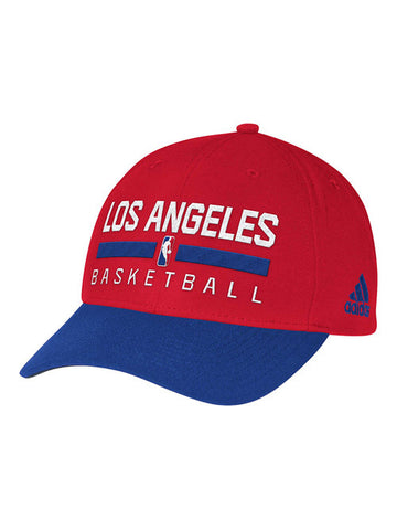 LA Clippers Authentic On Court Practice Structured Cap