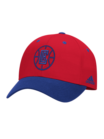 LA Clippers Christmas Structured Adjustable Cap