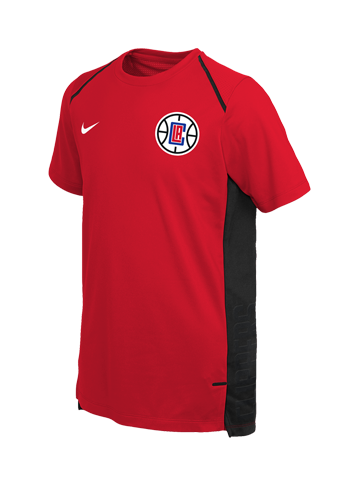 e864609f3 LA Clippers Youth Hyper Elite Short Sleeve Shooter – Clippers Store