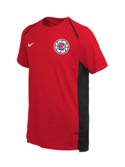 LA Clippers Youth Hyper Elite Short Sleeve Shooter