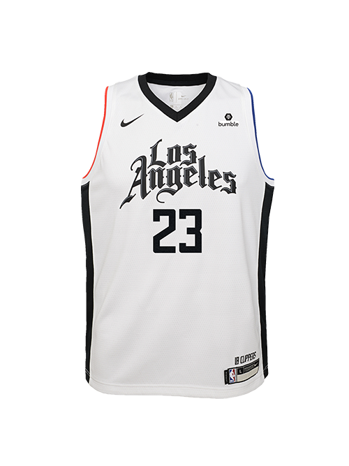 LA Clippers Youth Lou Williams City Edition Swingman Jersey - White