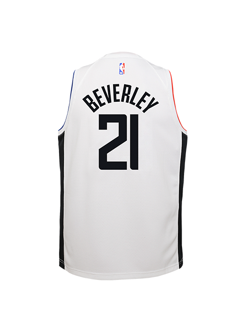 PRE-ORDER LA Clippers Youth Patrick Beverley City Edition Swingman Jersey - White