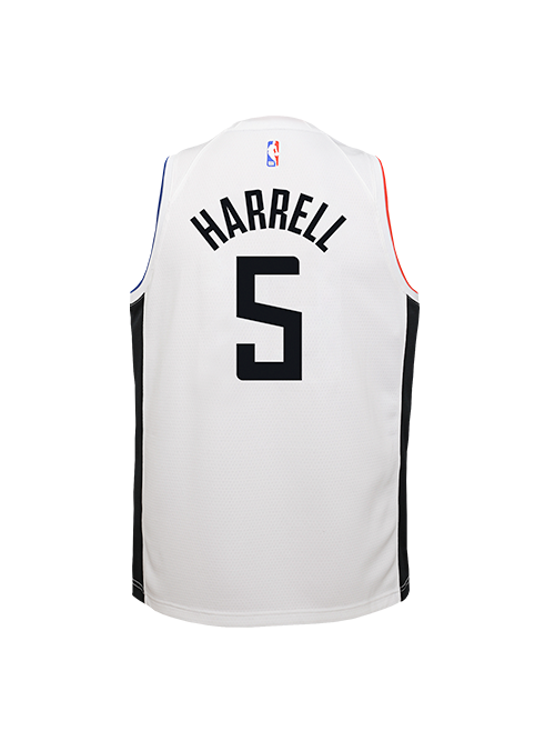 PRE-ORDER LA Clippers Youth Montrezl Harrell City Edition Swingman Jersey - White