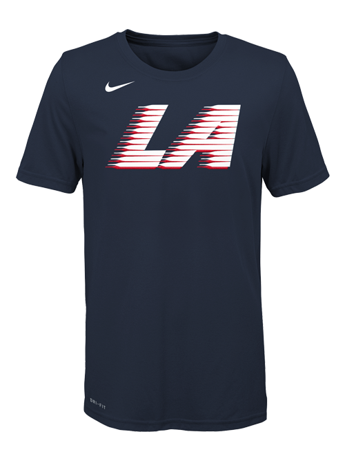 8156dc5a0 LA Clippers City Edition Youth Logo T-Shirt – Clippers Store