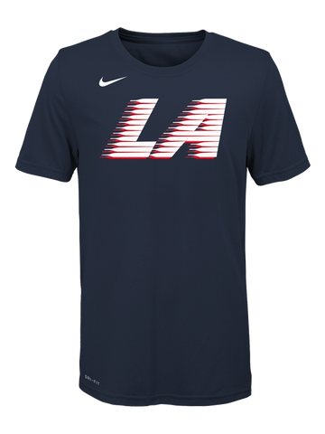 LA Clippers City Edition Youth Logo T-Shirt