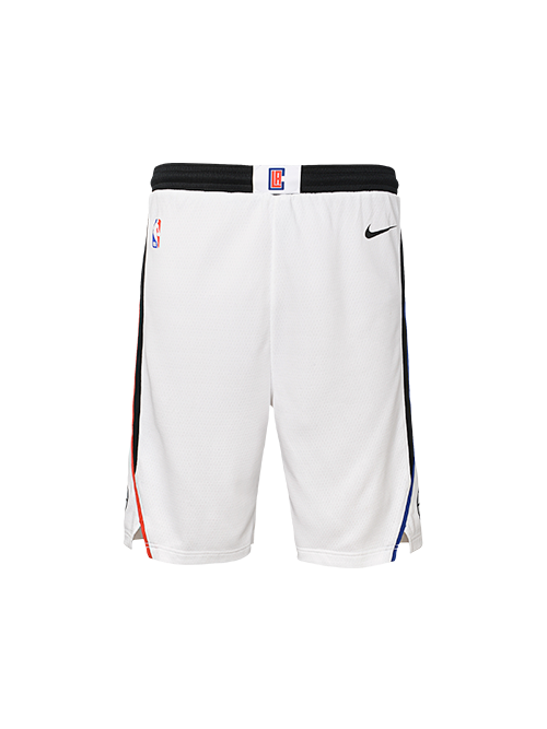LA Clippers Youth City Edition Swingman Short - White