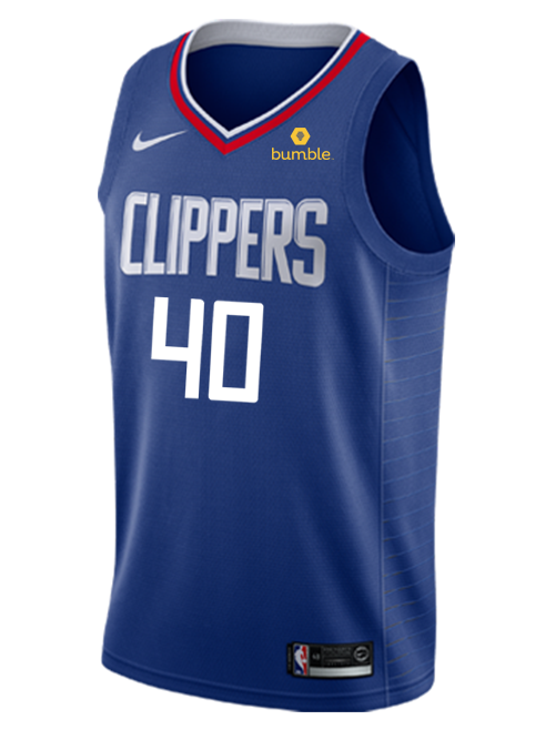 LA Clippers Ralph Lawler Icon Swingman Jersey