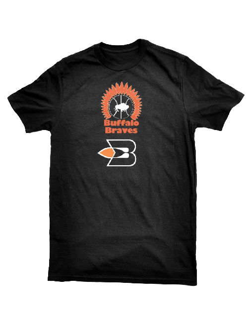 LA Clippers Classic Edition Buffalo Braves Logo T-Shirt