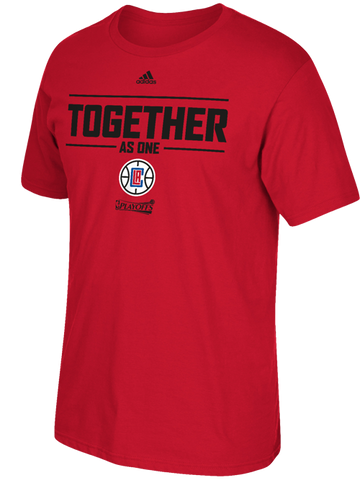LA Clippers Together As One Playoff T-Shirt