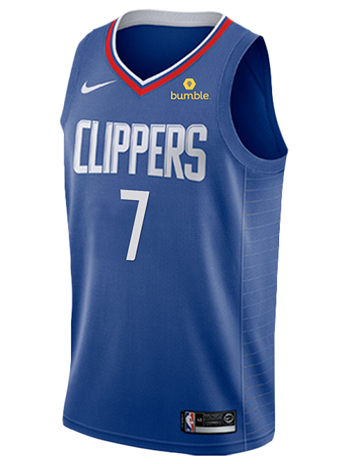 LA Clippers Amir Coffey Icon Swingman Jersey