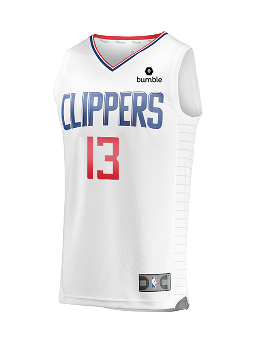 LA Clippers Paul George Association Replica Jersey