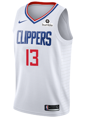 LA Clippers Paul George Association Swingman Jersey