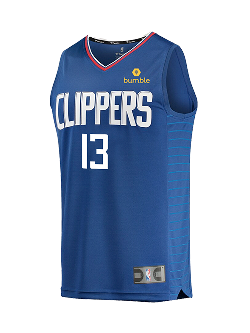 LA Clippers Youth Paul George Icon Replica Jersey