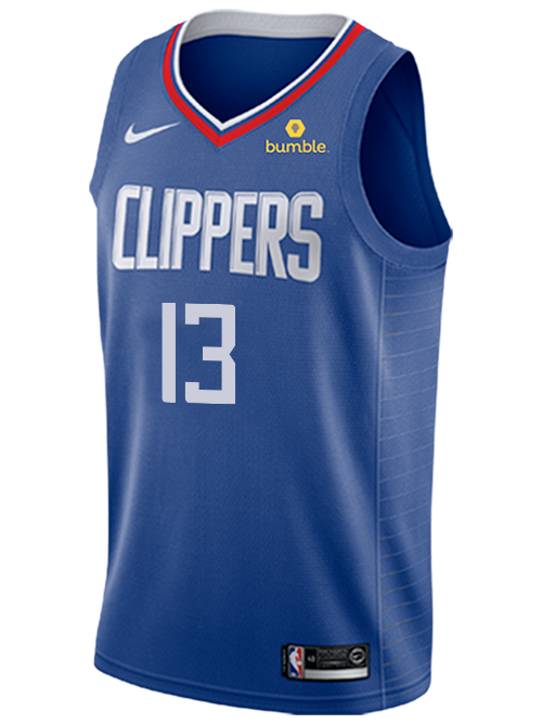 LA Clippers Paul George Icon Swingman Jersey