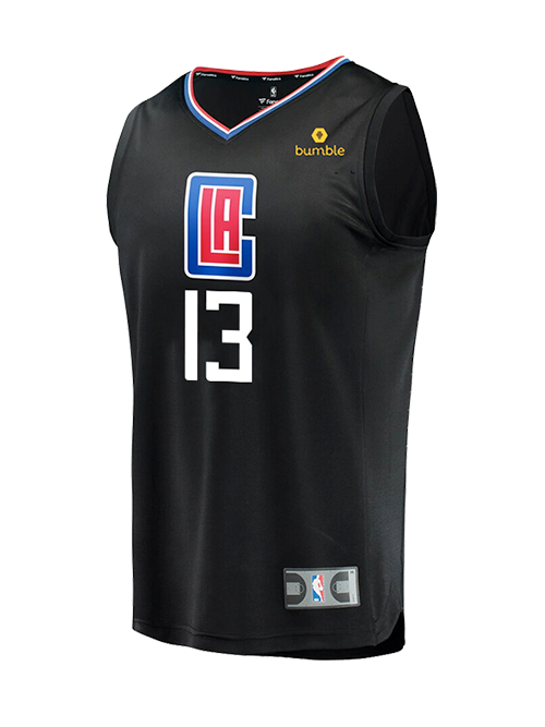 LA Clippers Youth Paul George Statement Replica Jersey