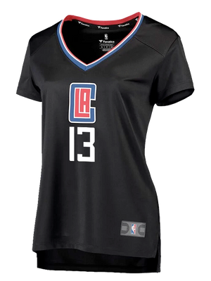 LA Clippers Women's Paul George Statement V-Neck Replica Jersey