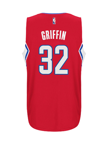 LA Clippers Youth Blake Griffin Road Swingman Jersey