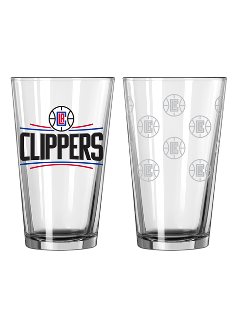 LA Clippers Satin Pint