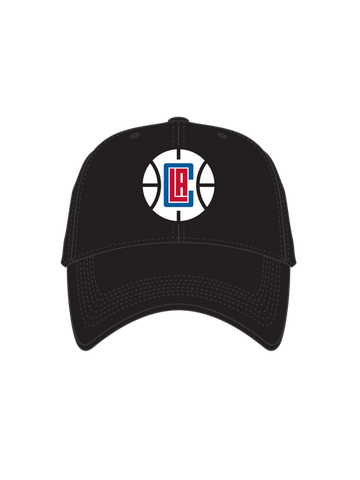 LA Clippers Basketball Logo Franchise Slouch Cap - Black