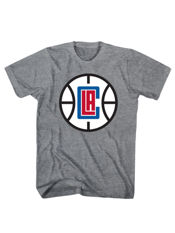 Los Angeles Clippers Basketball Logo Scrum T-Shirt
