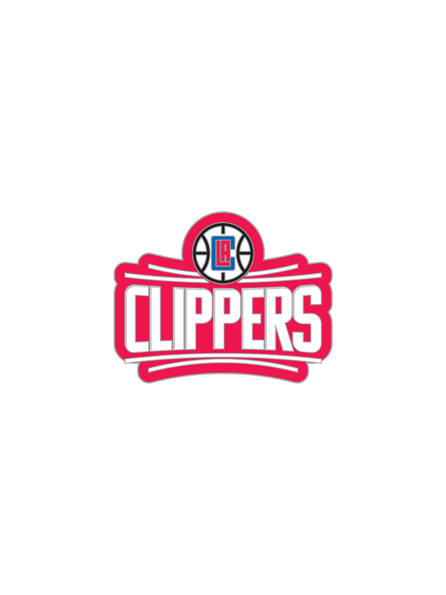 LA Clippers Primary Logo Pin