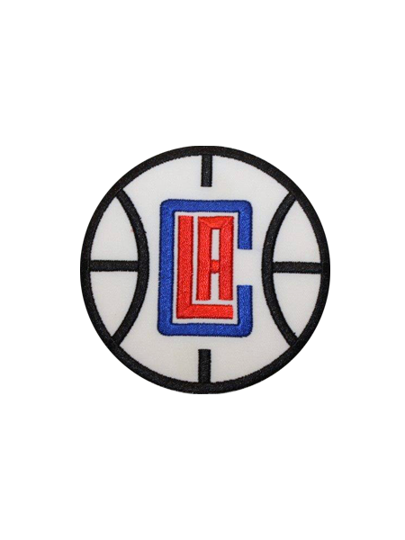 LA Clippers Basketball Logo Patch
