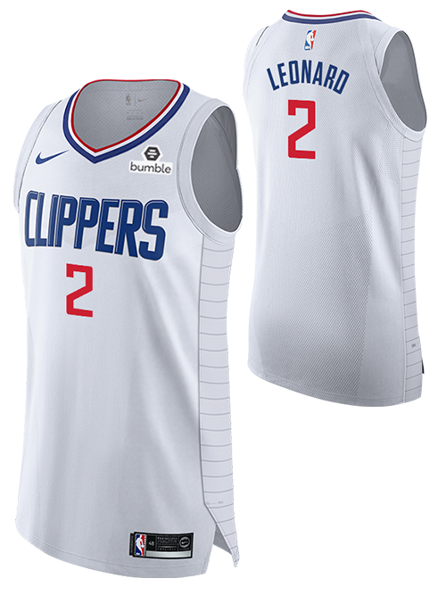 LA Clippers Kawhi Leonard Authentic Association Jersey