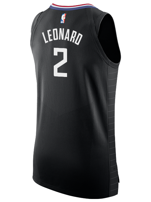 LA Clippers Kawhi Leonard Statement Authentic Jersey