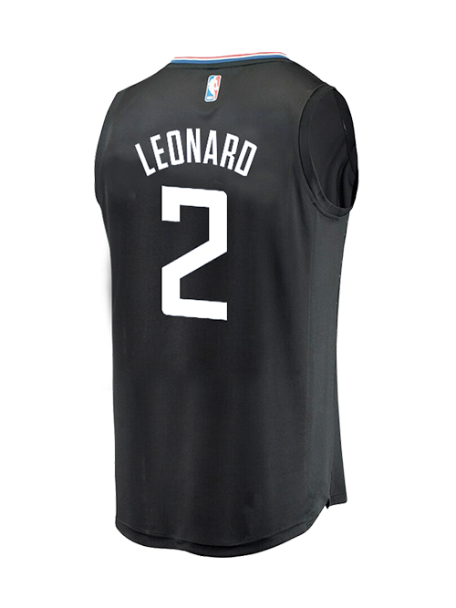 LA Clippers Youth Kawhi Leonard Statement Replica Jersey