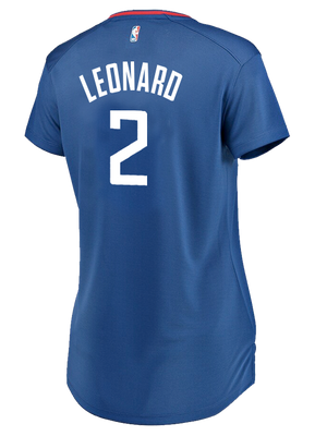 LA Clippers Women's Kawhi Leonard Icon V-Neck Replica Jersey