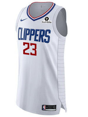 LA Clippers Lou Williams Authentic Association Jersey