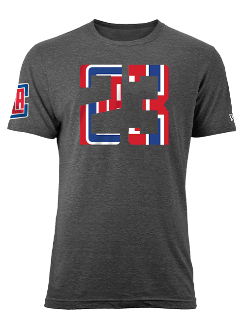 LA Clippers Lou Williams Number Fill T-Shirt