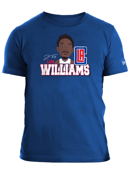LA Clippers Lou Williams Caricature T-Shirt