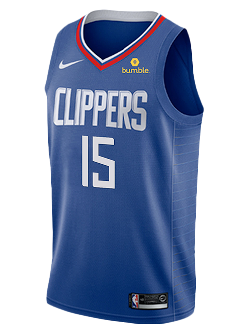 LA Clippers Johnathan Motley Icon Swingman Jersey