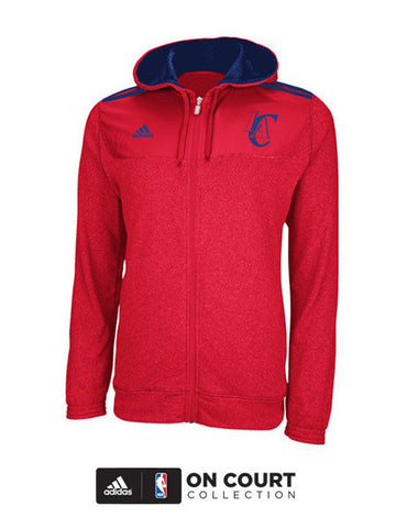 Los Angeles Clippers On Court Pregame Full Zip Hoodie