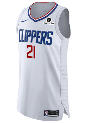 LA Clippers Patrick Beverley Authentic Association Jersey