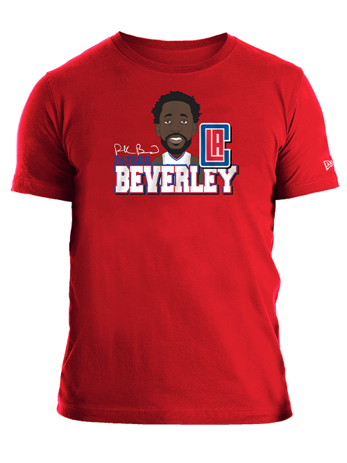 LA Clippers Patrick Beverley Caricature T-Shirt