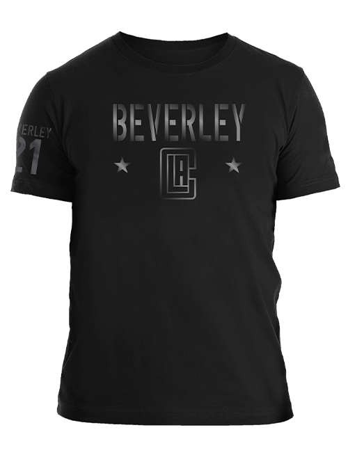 LA Clippers Patrick Beverley Gloss Military T-Shirt