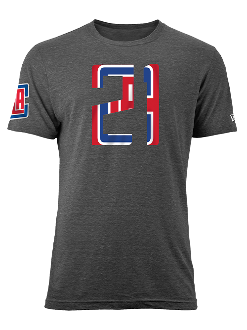 LA Clippers Patrick Beverley Number Fill T-Shirt