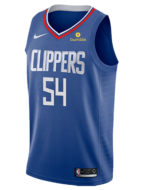 LA Clippers Patrick Patterson Icon Swingman Jersey