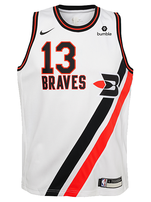 LA Clippers Classic Edition Buffalo Braves Youth Paul George Youth Swingman Jersey