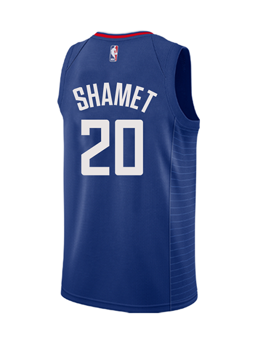 brand new 2e0a3 11948 LA Clippers Landry Shamet Icon Swingman Jersey
