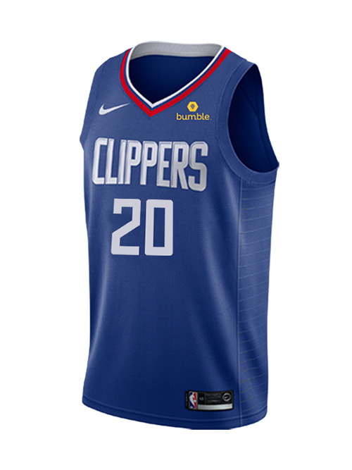 LA Clippers Landry Shamet Icon Swingman Jersey