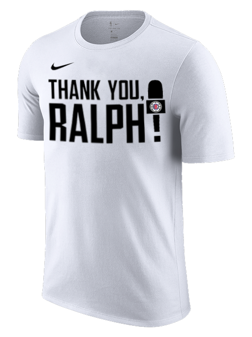 LA Clippers Ralph Lawler Thank you T-Shirt