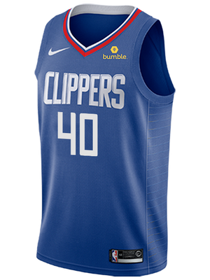 LA Clippers Ivica Zubac Icon Swingman Jersey