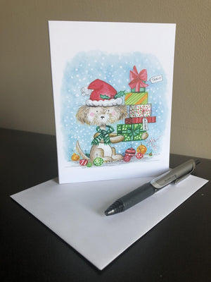 What Are You Getting The Cats For Christmas?  Greeting card