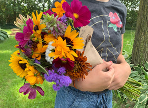 Locally Grown Flower Bouquet Weekly 2021 Subscription