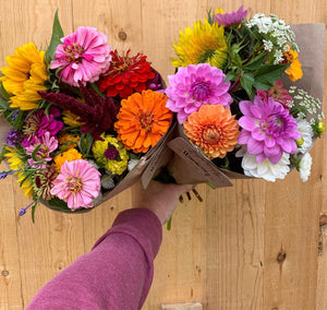 Locally Grown Flower Bouquet 2021 Monthly Subscription