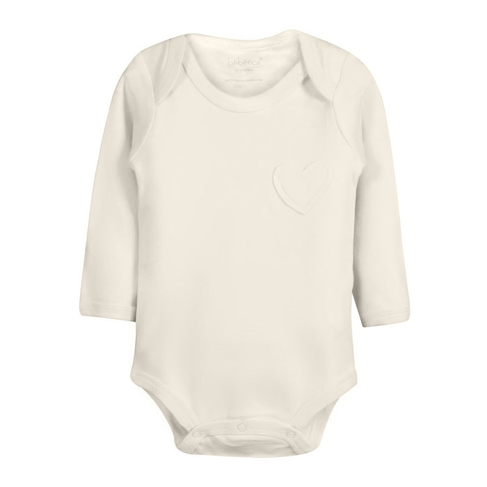 Nature's Hug: Organic Baby Onesie Bodysuit-Unbleached and Undyed
