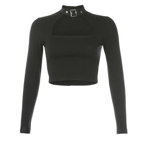 Half Moon Buckle Top - 82 Ave